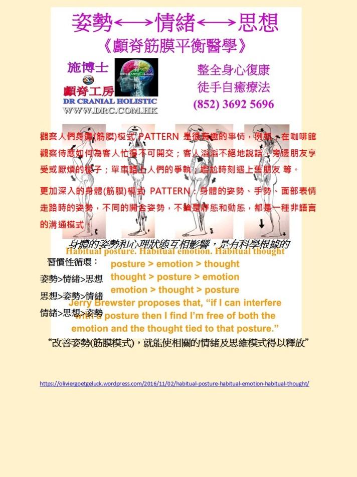 habitual-posture-habitual-emotion-habitual-thought-chinese
